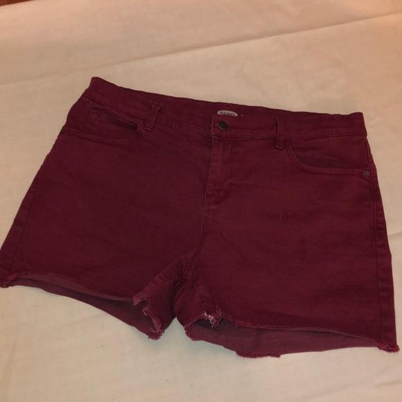 Old Navy Pants - Boyfriend Cutoff Jeans